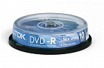 DVD-R TDK 4.7Gb cake box (10 шт/уп)