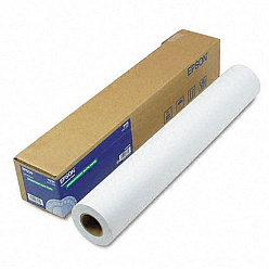 "Бумага Epson С13S041385 Double weight matter paper A1 24"" 610 ммx25 м 180 г/м2"