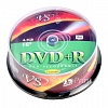 DVD+R VS 4.7Gb Cake Box (25шт/уп)