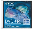 DVD+R TDK 4.7Gb Slim Case