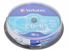 CD-R Verbatim 700 MB Cake Box 52х (10шт/уп)
