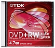 DVD+RW TDK 4.7 Gb Slim Case
