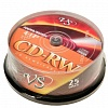 CD-RW VS 700 Mb Cake Box (25шт/уп)