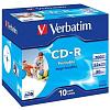 CD-R Verbatim 700 Mb, 52x, Jewel Case