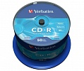 CD-R Verbatim 700 MB 52х Cake Box 43351  (50шт/уп)
