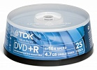 DVD+R TDK 4.7Gb  cake box (25ш/уп)
