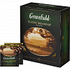 Чай черный Greenfield Classic Breakfast 100 пак/упак