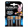 Батарейка Duracell UltraPower АА (LR6) упаковка 4 шт.