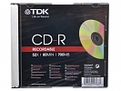 CD-R TDK 700 Mb 48х-52х slim case
