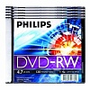 DVD-RW диски Philips, cake box, 10 шт/уп