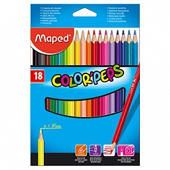 ��������� ������� MAPED COLOR'PEPS 18 ������